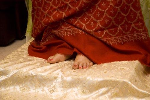 Shri Matajis Feet